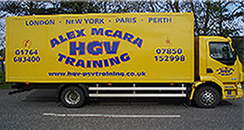 Alex McAra HGV Training, Perth, PH1 3TW, Scotland, UK